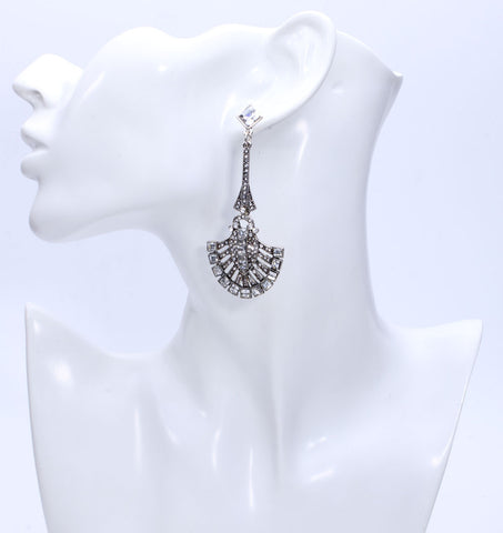 Image of Chandelier Drop Earrings Virtual Glam Shop