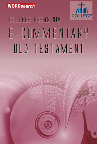 College Press NIV E-Commentary (Old Testament Only)