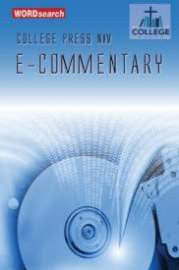 College Press NIV E-Commentary (New Testament Only)