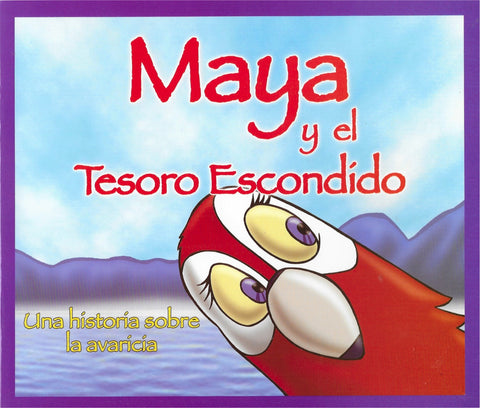 Maya y el tesoro escondido por Diego Salvatierra Romero (Maya and the Hidden Treasure)