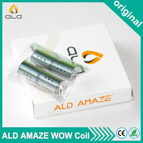 4pc ALD Amaze Ceramic Coil - Cloud9City™ - Canada Dry Herb & Wax Vaporizer Shop