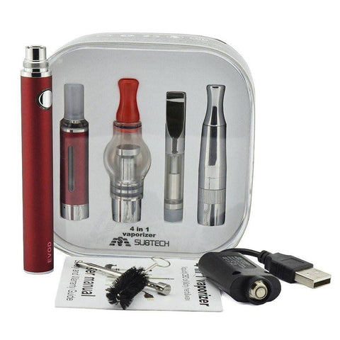 C9C Magic 4 in 1 Kit (Dry Herb, Wax, Liquid, and Oil Vaporizer)