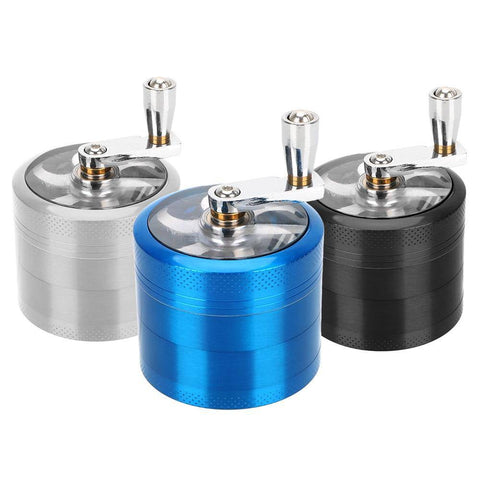 4 Layer 55mm Grinder - Cloud9City™ - Canada Dry Herb & Wax Vaporizer Shop