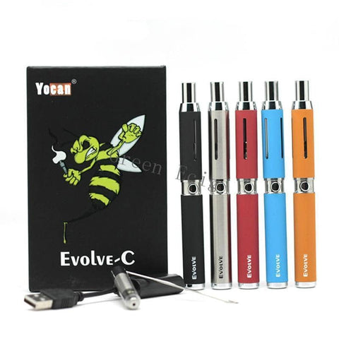 Yocan Evolve-C  Wax/oil/CBD Pen - Cloud9 City - Canada's Dry Herb & Wax Vaporizer Shop