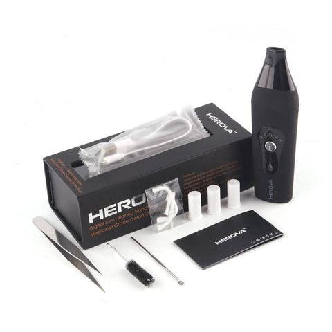 AIRISTECH Herova 3 in 1 Vaporizer - Cloud9 City - Canada's Dry Herb & Wax Vaporizer Shop