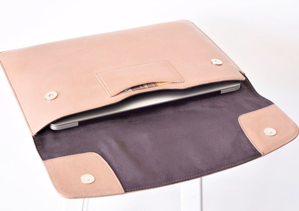"Laptop Sleeve 13"" - Latte"