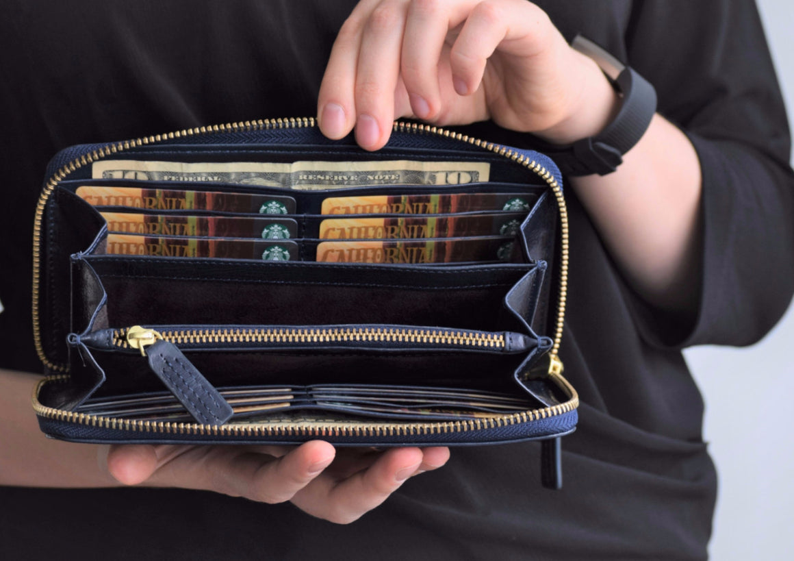 Phone Wallet - Navy