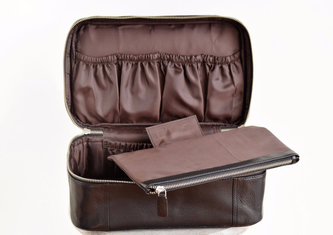 Large Toiletry Bag - Black