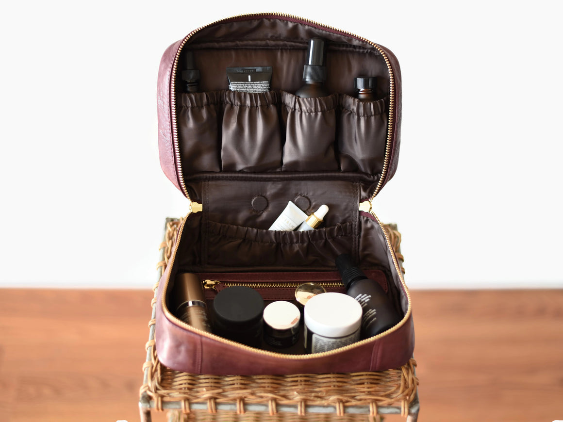 Toiletry Bag - Wine