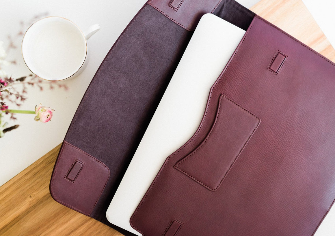 "Laptop Sleeve 13"" / 15"" / 16"" - Wine"