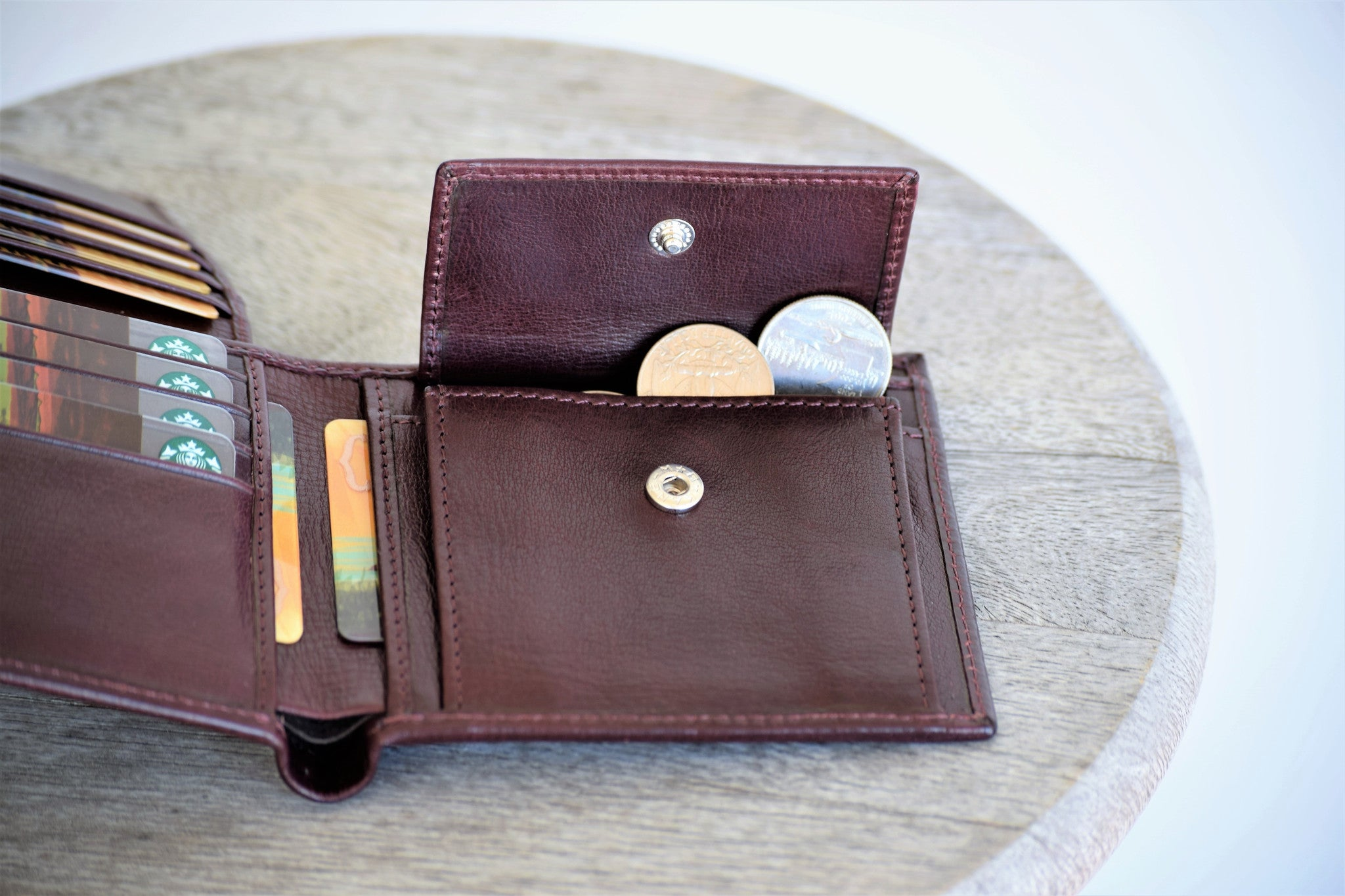 Coin Wallet - Wine