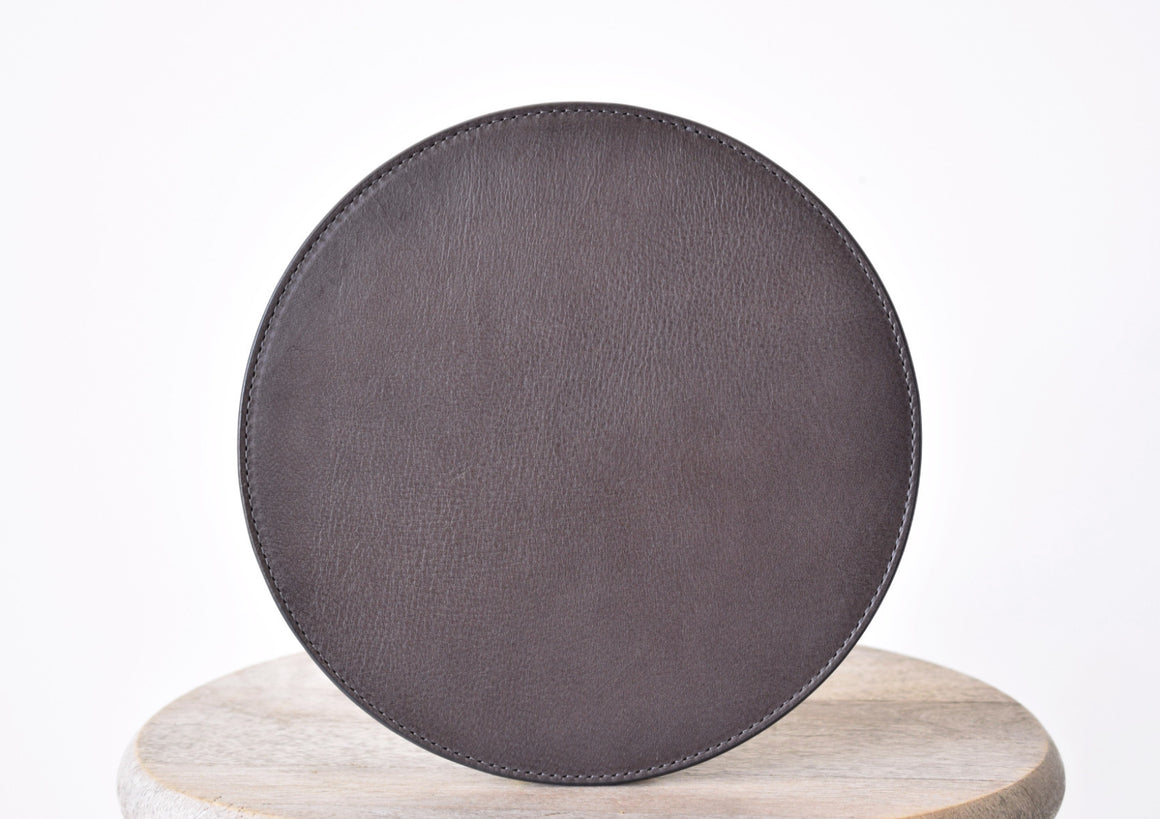 Leather Mousepad - Wine