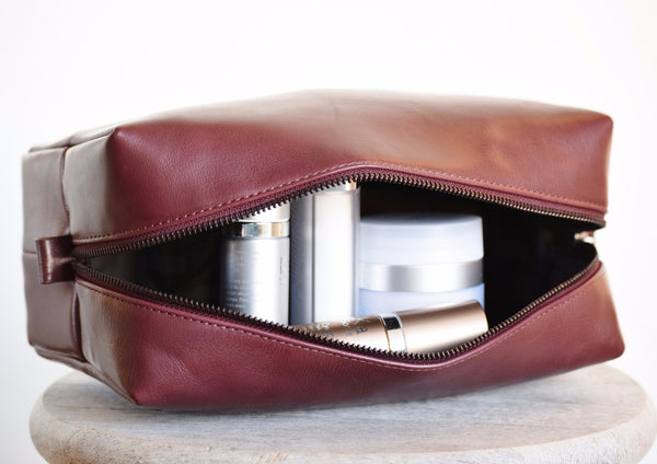 Cosmetic Pouch - Wine
