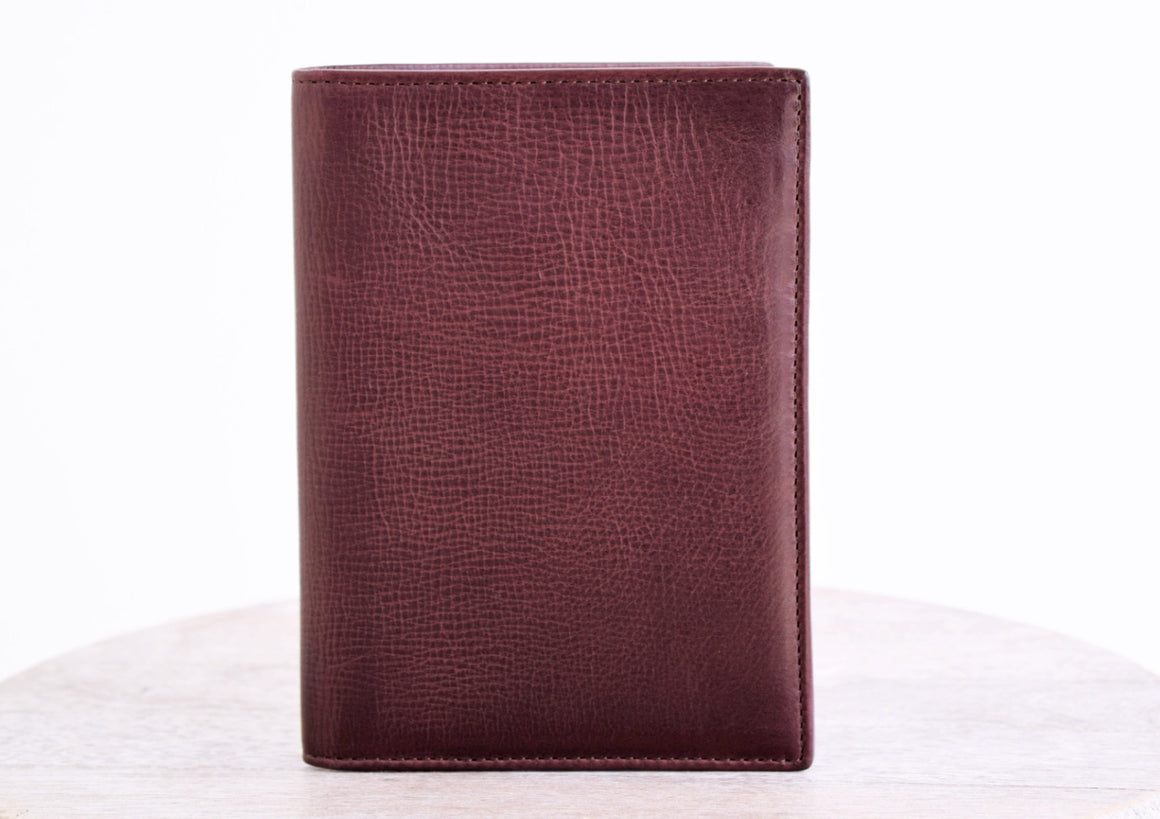 Passport Cover - Wine