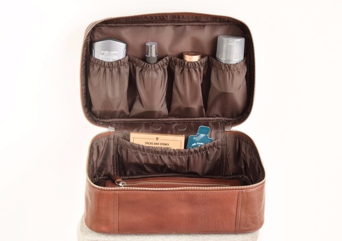 Toiletry Bag - Coffee