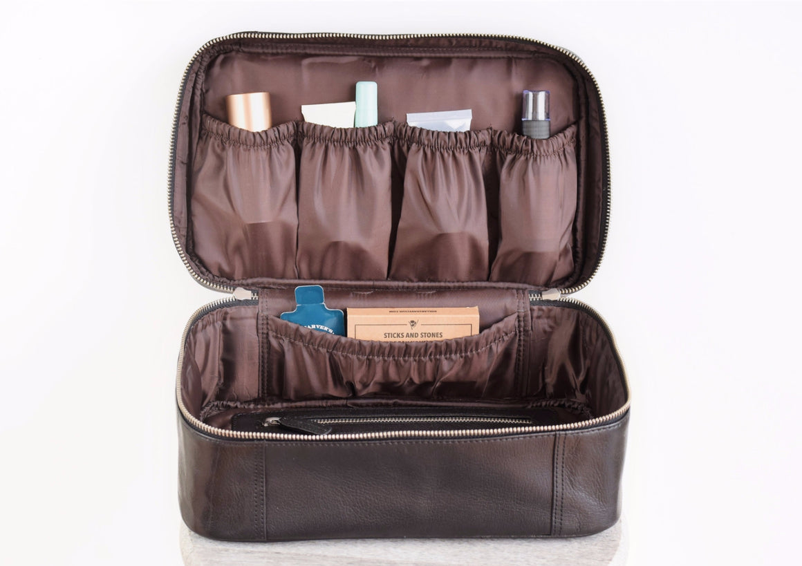 Toiletry Bag - Black Caviar
