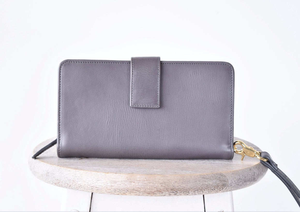 Crossbody Wallet - Grey