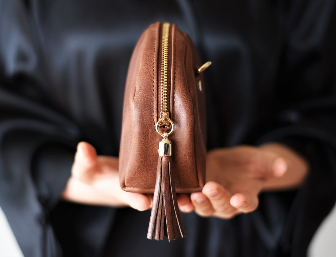Tassel Purse - Coffee