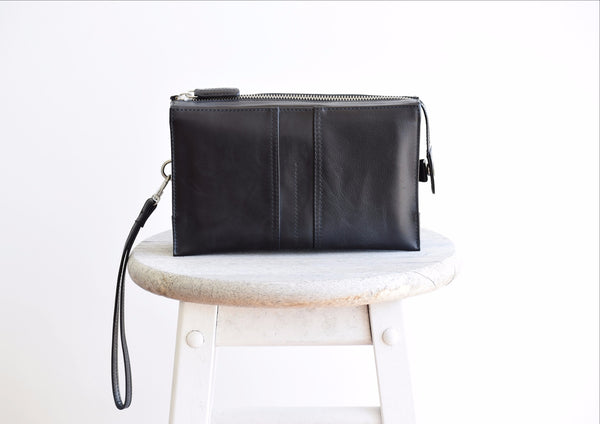 Convertible Belt Clutch - Black