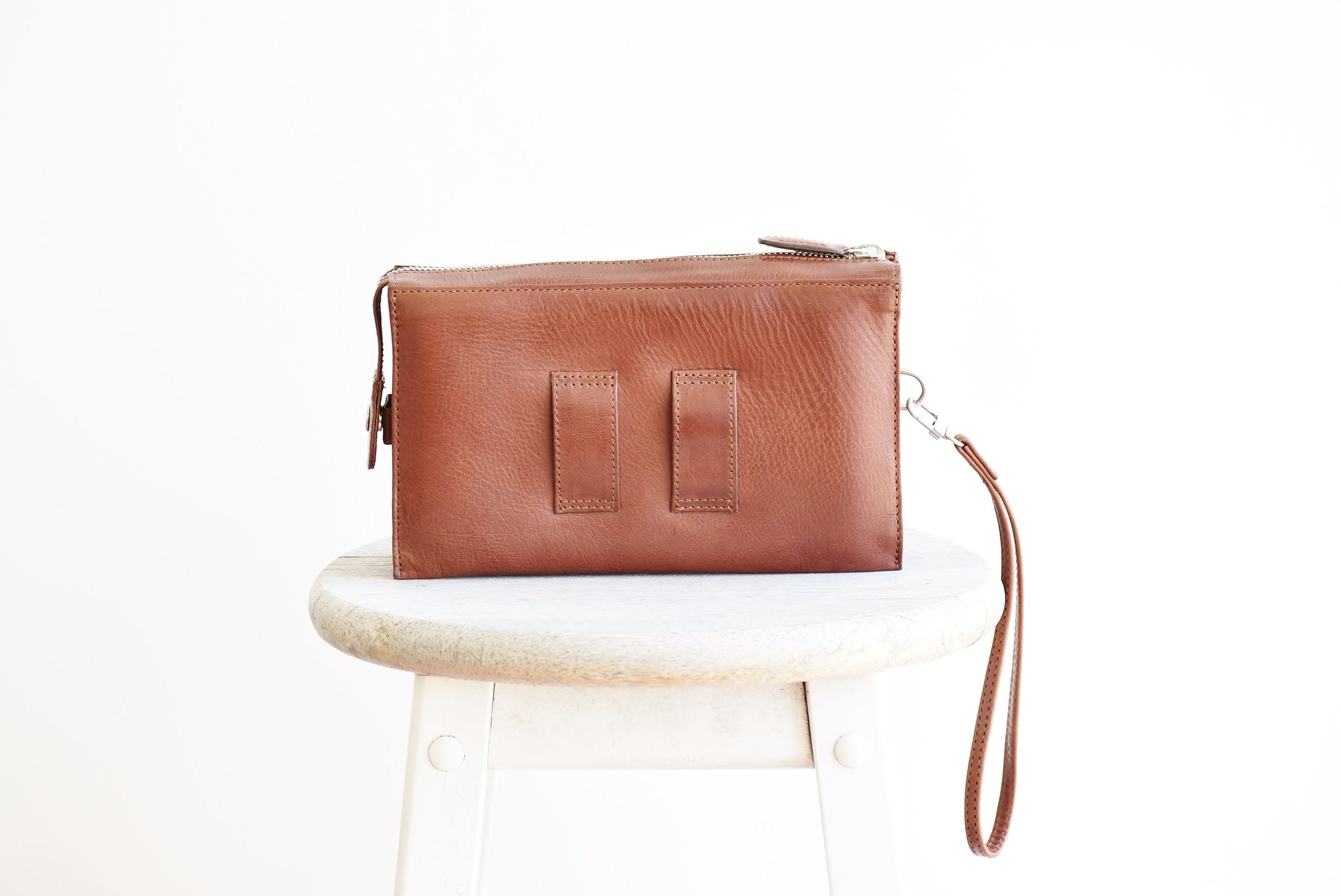 Convertible Belt Clutch - Coffee