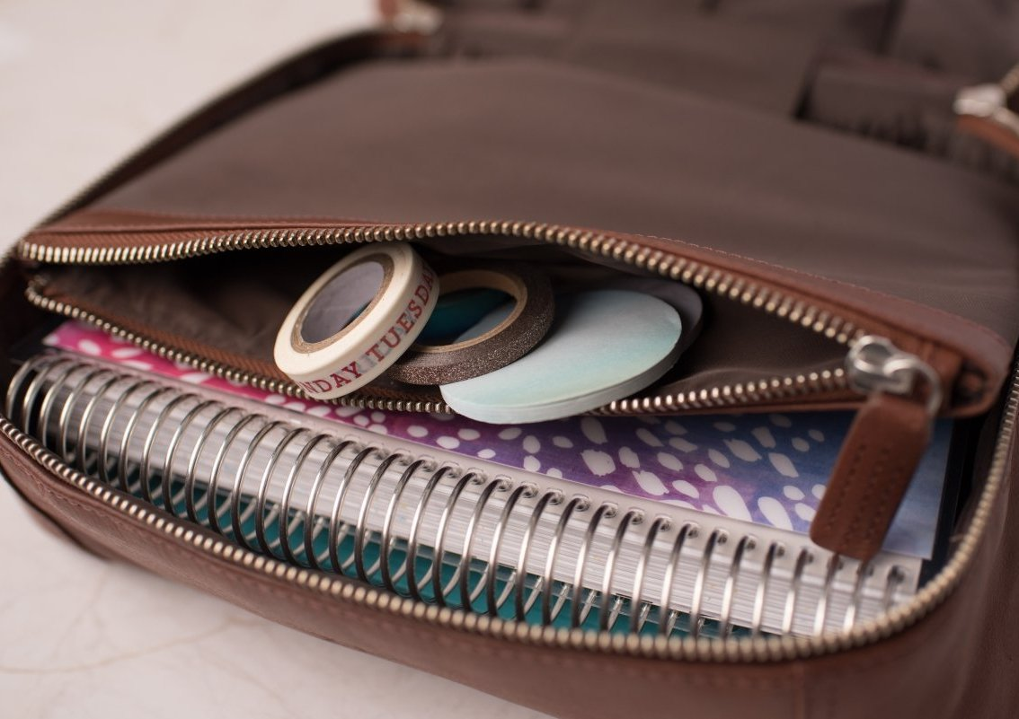 Planner Stash Bag