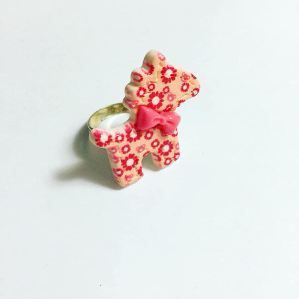 Red Pony Adjustable Ring