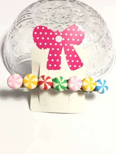 Candy Swirl Hair Barrette