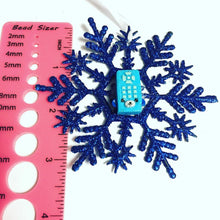 Load image into Gallery viewer, Cartoon Remote Control Snowflake Christmas Ornament