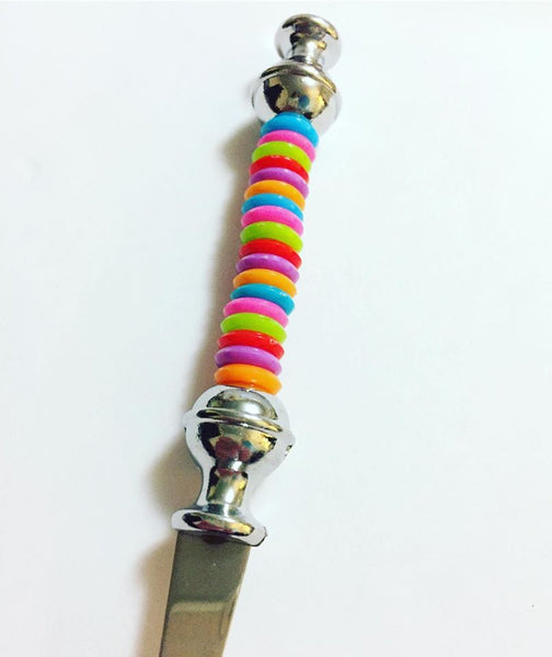 Stainless Steel Beaded Party Gift Fork