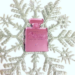 Princess Perfume Snowflake Christmas Ornament