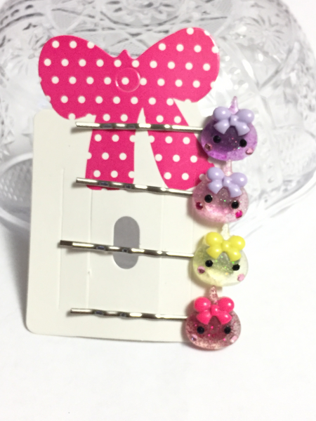 Cute Hair Clips Set