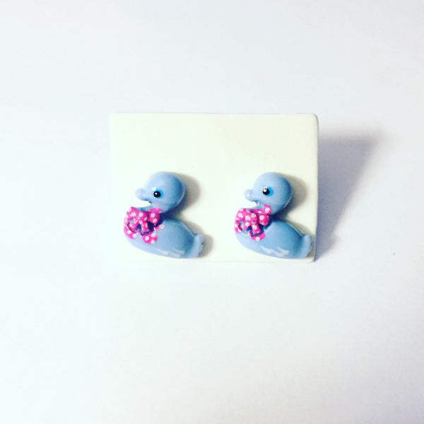 Baby Duck Earrings