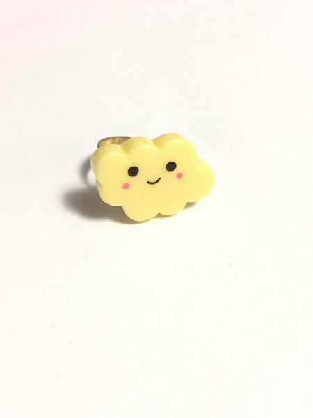 Yellow Cloud Ring