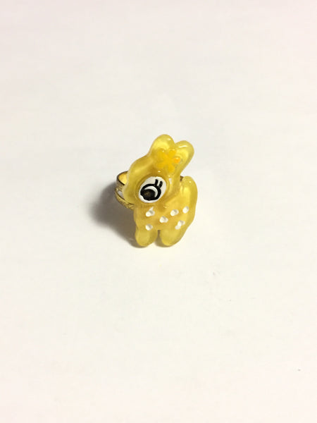 Yellow Deer Ring