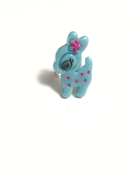 Blue Deer Ring