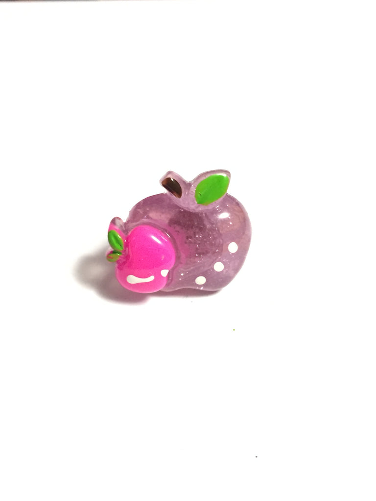 Purple and Pink Apples Ring