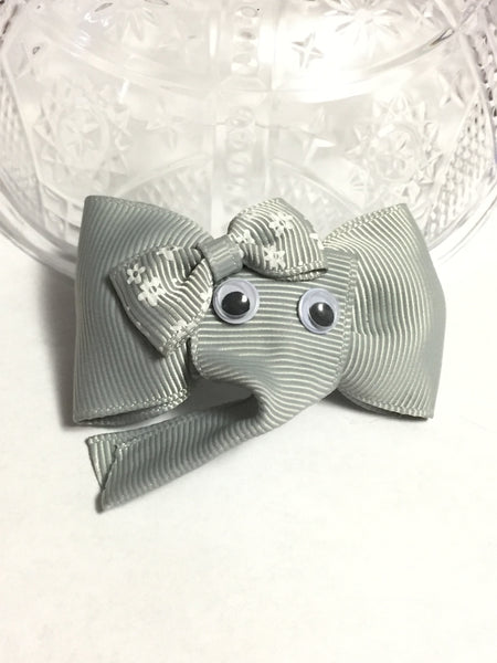 Elephant Ribbon Hair Clip