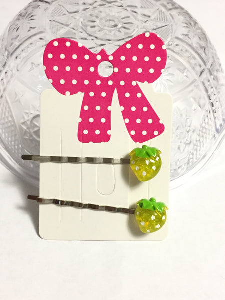 Strawberry Hair Bobby Pins