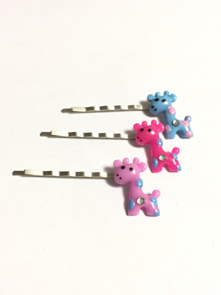 Giraffe Hair Pins Set