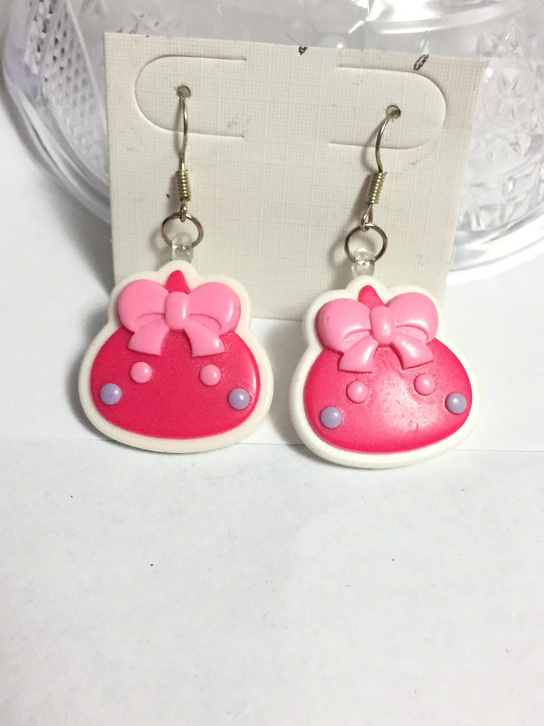 Cute Hot Pink Earrings