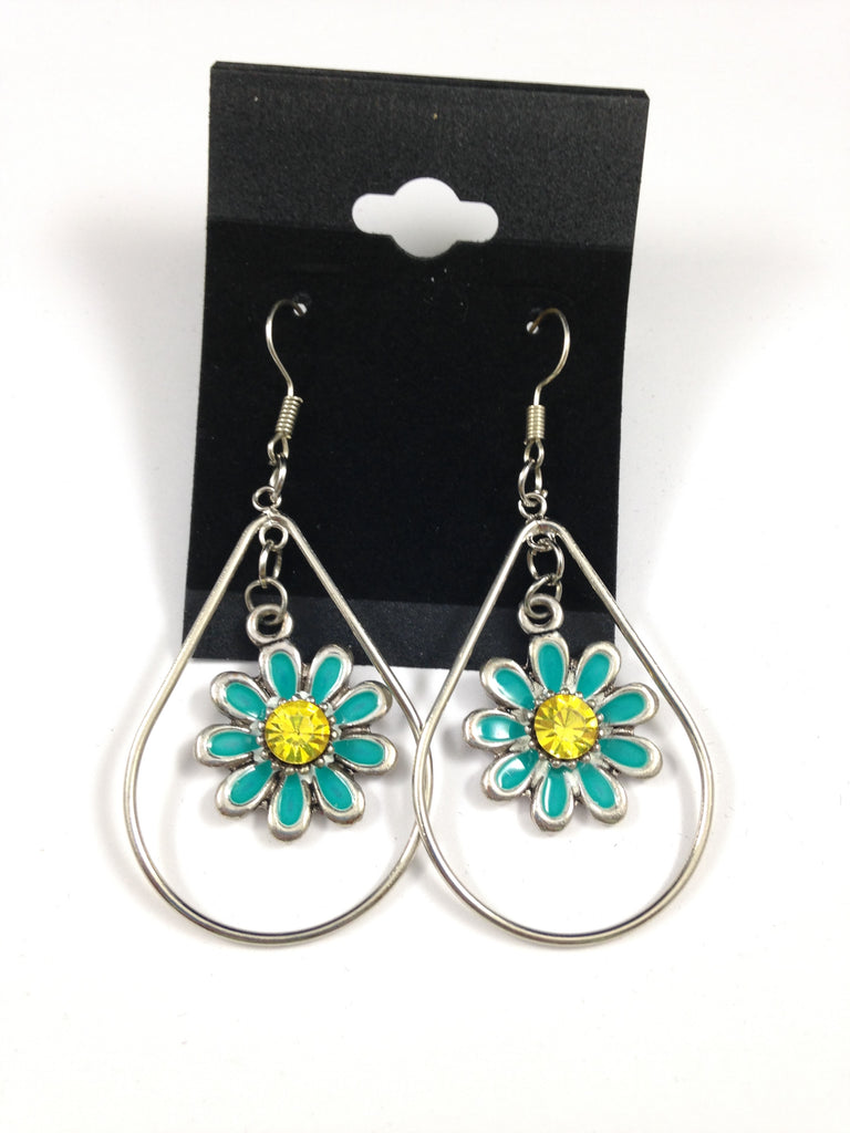 Dangle Daisy Earrings