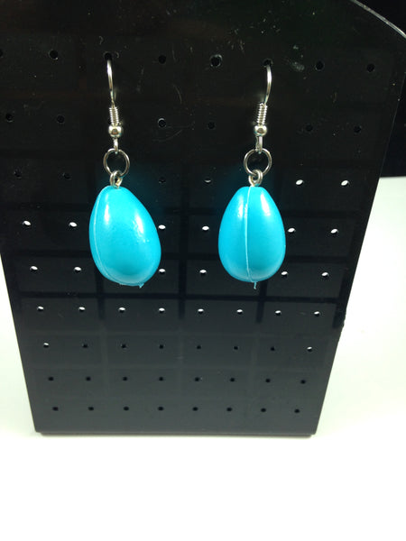 Blue Egg Earrings