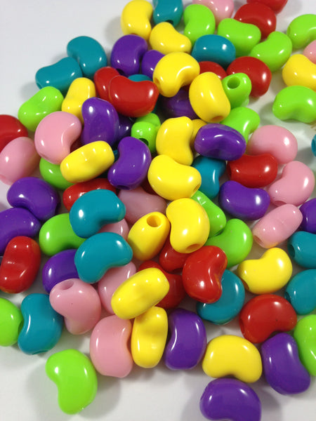 Jelly Bean Shape Beads