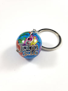 John 3:16 World Keychain
