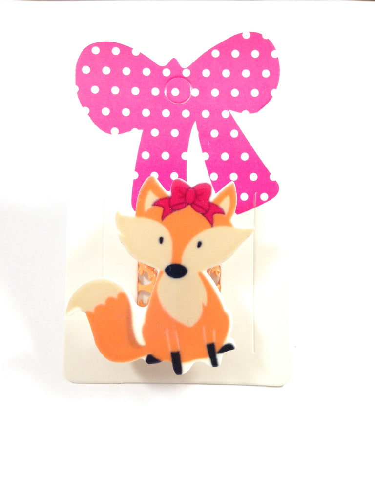 Cute Fox Adjustable Ring