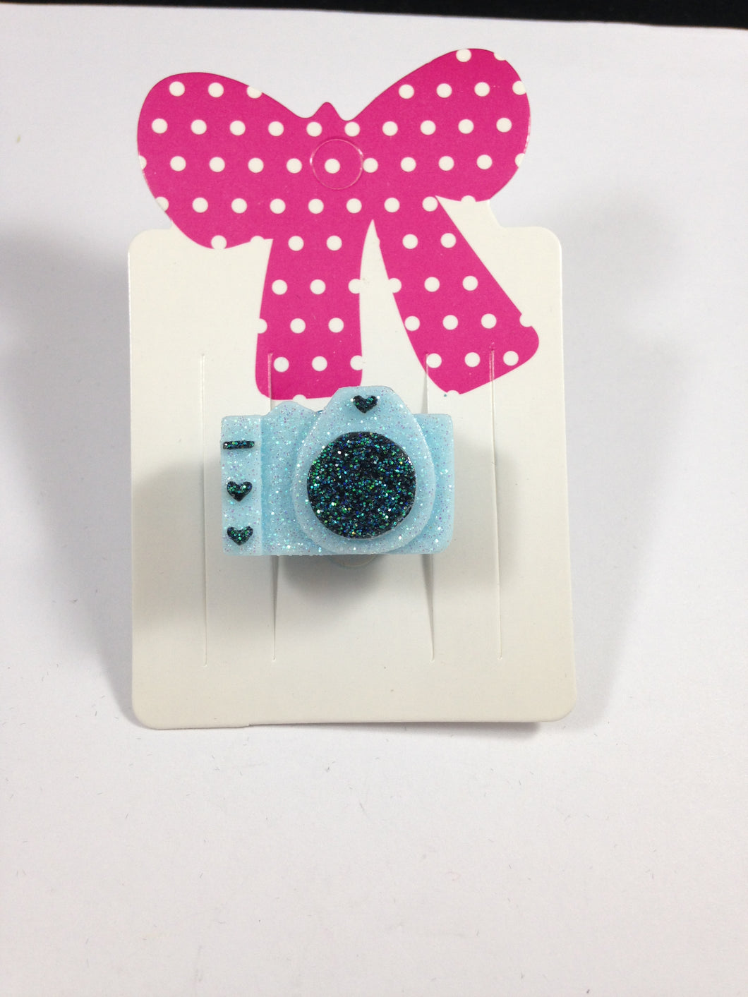 Blue Camera Adjustable Ring