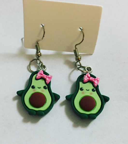 Cute Avocado Earrings