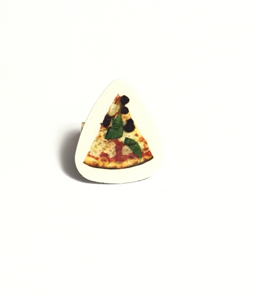 Pizza Guitar Pick Ring