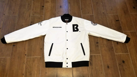 BCG-JACKET: AMERICAN BULLY LETTERMAN WHITE