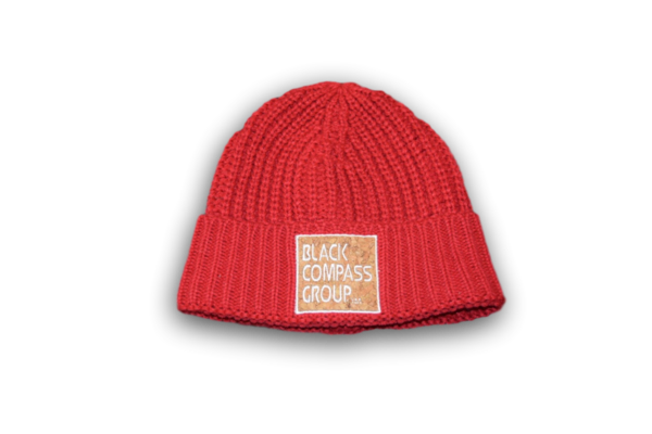 BCG Over-sized Fisherman Beanie: Red, Blue and Pistachio